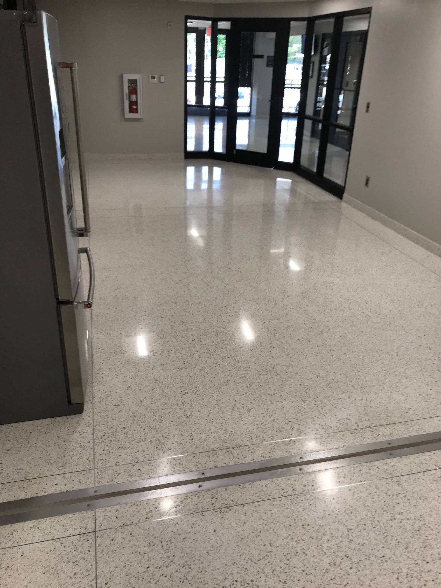 Cobb County Water Department Chooses Polished Terrazzo Over